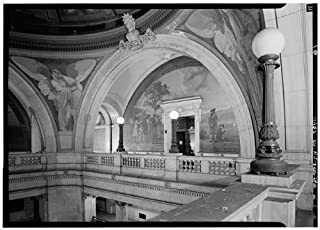 HistoricalFindings Photo: Hudson County Courthouse,583 Newark Avenue,Jersey City,New Jersey,NJ,HABS,27