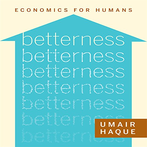 Betterness audiobook cover art
