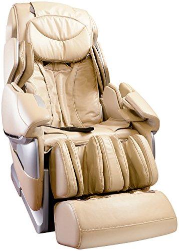 Newgen Medicals Premium Massagesessel: Ganzkörper-Massagesessel GMS-300.bt mit Bluetooth, beige (Massagestühle)