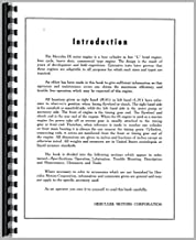 Hercules Engines IXK-3 Engine Service Manual