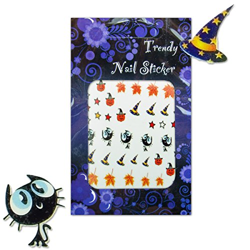 Gothic/Halloween Colour Nailart Sticker/Nagelsticker