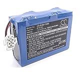 Batería de ácido de plomo cerrada marca vhbw 4500mAh (12V) desfibrilador/monitor Philips M1722A/B, M1722B, M1723A/B, M1724XE sustituye B10782.