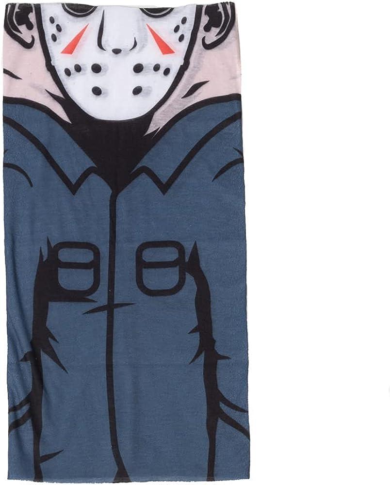 Friday The 13th Jason Mask Multifunctional Gaiter Face Mask