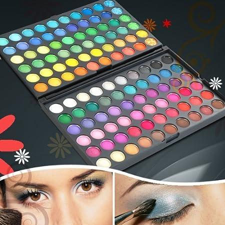 AMBITO 120 colores Paleta de sombra de ojos cosmética ...