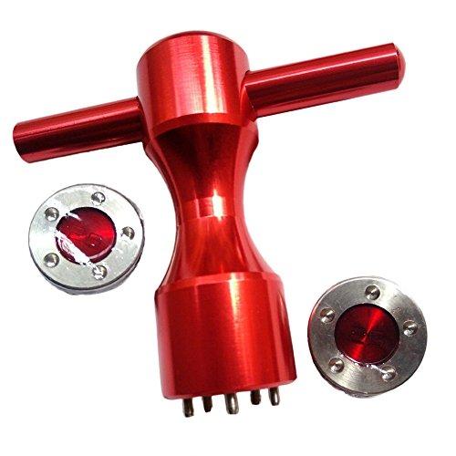 hifrom Gewicht Schlüssel Werkzeug 5Pin Loch mit Gewichte für TITLEIST Scotty Cameron California My Girl Golo Newport Kombi Putter, 25g+wrench, 25g+wrench
