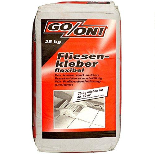 25Kg Flex Fliesenkleber innen und außen frostwiderstandsfähig, für Fußbodenheizung geeignet