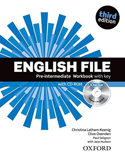 English File third edition: English file. Pre-intermediate. Workbook. With keys. Per le Scuole superiori. Con espansione online