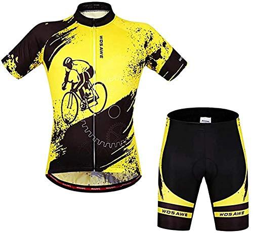 Zomer Fietsen Kleding, Long Ride Comfortabel, Ademende Zweet Absorberende, Sneldrogend En Comfortabele Kleding Creative Unisex Mountainbiken Clothing,XS