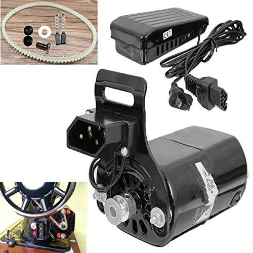 1 x macchina da cucire, motore con controller, 220 V, 180 W, 0,9 A, nero, per macchina da...