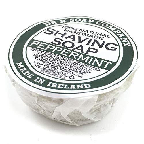 Jabón de afeitar menta