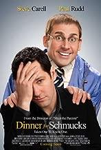 Dinner for Schmucks Movie Poster (27 x 40 Inches - 69cm x 102cm) (2010) Style D -(Steve Carell)(Paul Rudd)(Stephanie Szostak)(Jemaine Clement)(Zach Galifianakis)(Lucy Punch)