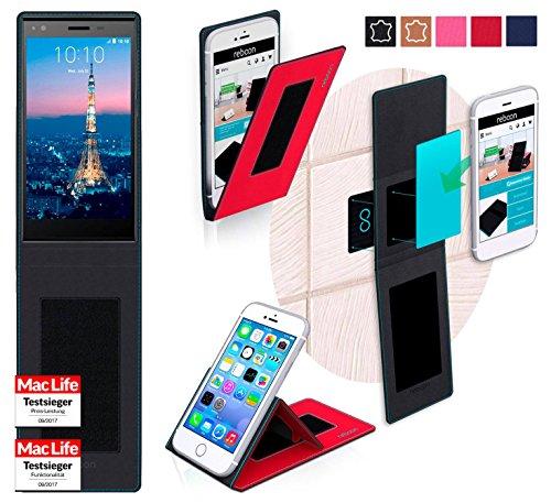 reboon Hülle für ZTE Blade Vec 4G Tasche Cover Case Bumper | Rot | Testsieger