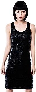 Cult Strap Dress - Black Print