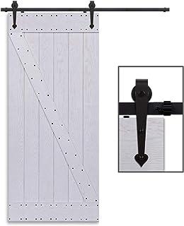 CCJH 4FT-122cm Herraje para Puerta Corredera Kit de