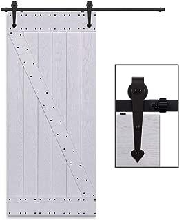 Herraje para puerta ancho Juego Sistema de puerta corredera sweepid Herraje para 2 m//6.6ft