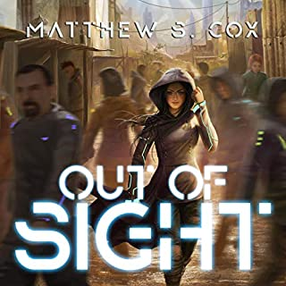 Out of Sight audiobook cover art