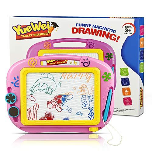 DreamToy Geschenke für Mädchen ab 3-8 Jahre,Magnettafel Kinder Maltafel für Kinder ab 3-8 Lernspielzeug ab 3-8 Jahren Groß Kinder Spiel Mädchen Spielzeug Geschenke für Kinder 3-8 Jahre