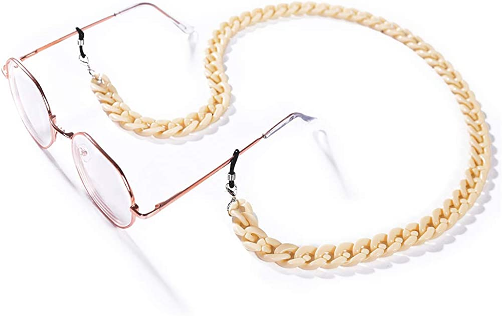 Cren Acrylic Eyeglass Chain Necklace Strap Ranking TOP3 Cords Holder trend rank Glasses