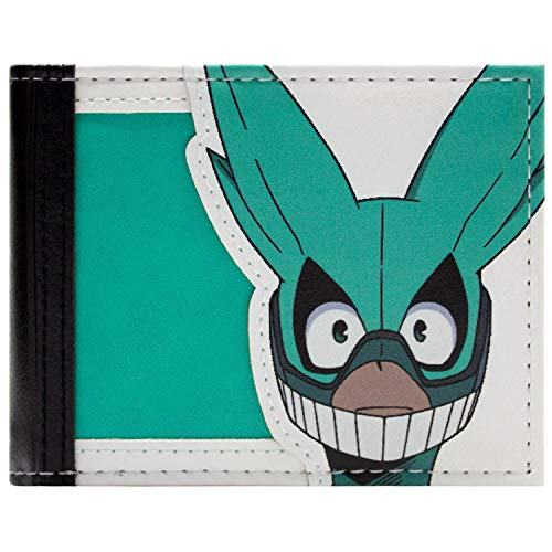 My Hero Academia Deku Maske Portemonnaie Geldbörse Grün