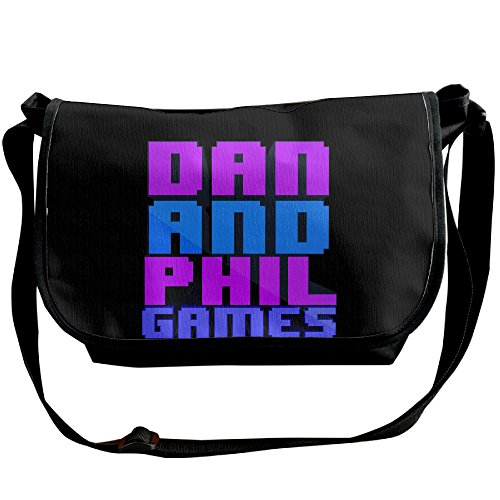 Dan And Phil Backpack Outdoor Crossbody Bag Single Shoulder Pack Bag