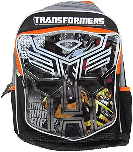 Backpack - Transformers - Bumblebee Optimus Prime Boys New 084251