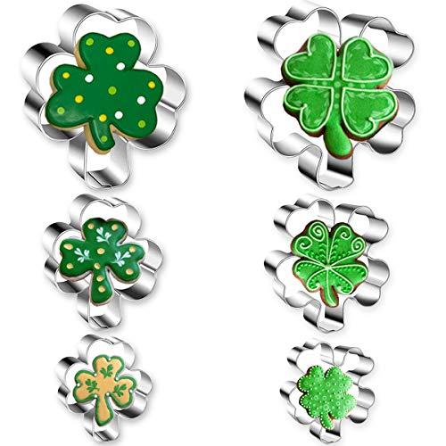 4 leaf clover cookie cutter - 3