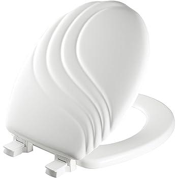 Mayfair 27eca 000 Sculptured Swirl Toilet Seat Will Never