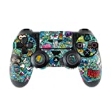 Skins4u Controller Aufkleber Design Schutzfolie Skin kompatibel mit Sony Playstation 4 PS4 Jewel Thief