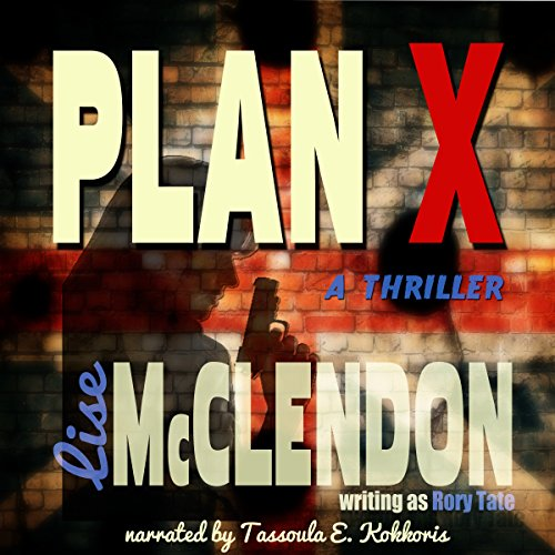 Plan X audiobook cover art