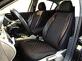 Sitzbezüge K-Maniac für VW Golf Sportsvan   Universal schwarz-rot   Autositzbezüge Set Vordersitze   Autozubehör Innenraum   Auto Zubehör   V1205257   Kfz Tuning   Sitzbezug   Sitzschoner