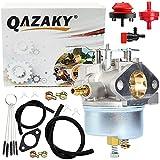 QAZAKY Sostituzione del carburatore per Tecumseh 632110 632111 632334 632370 632536 OHSK125 Generatore di spazzaneve Trituratore cippatore
