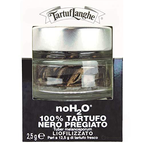 TartufLanghe - NoH2O® Gefriergetrockneter schwarzer Wintertrüffel, Winter BLACK TRUFFLE, FREEZE-DRIED 2,5 g