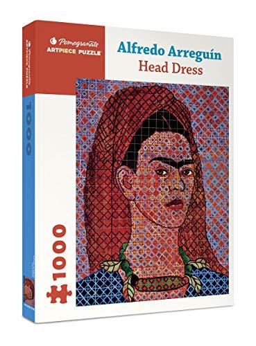 Alfredo Arreguin: Head Dress 1000-Piece Jigsaw Puzzle (Pomegranate) 20  x 25