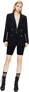 Autunno e Inverno Blazer Doppio Seno Design Moda Sottile Temperamento Medio Lungo Cappotto Donne