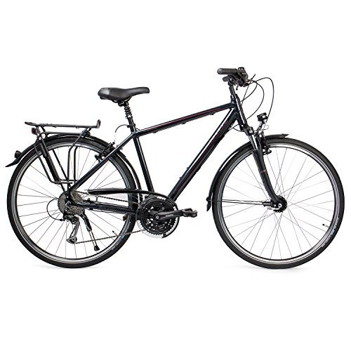 RALEIGH Herren Oakland Deluxe Fahrrad, Seablue, 55