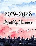 Ten Years 2019-2028 Monthly Calendar Planner:...