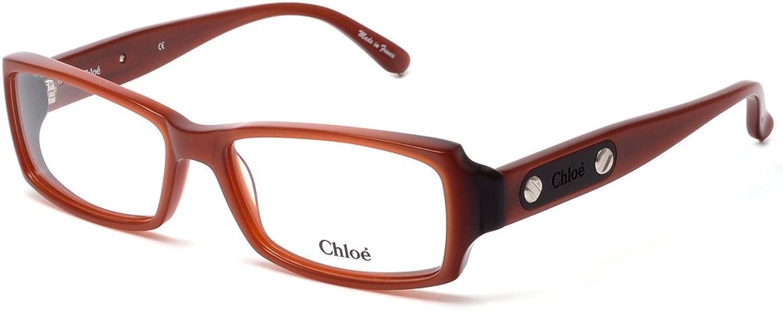Chloe Glasses Women CL 1164 C02 Brown Full Frame