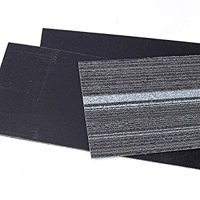 Commercial Strip Carpet Tile - 39.37 x 9.84 x2.36 in Heavy Duty Washable Carpet Floor Tile Peel and Stick Non Slip Thick with PVC Backed for Home Office Indoor Outdoor