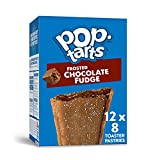 Pop-Tarts, Breakfast Toaster Pastries, Frosted Chocolate Fudge, Proudly Baked in the USA, 13.5oz Box (Pack of 12)