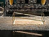 Schuller Beistelltisch Moonlight Gold LED 110 x 70 x 38 cm