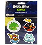 Angry Birds Space - Magnet Set - PIG, FIREBOMB, LIGHTNING & FROZEN GRANDPA PIG