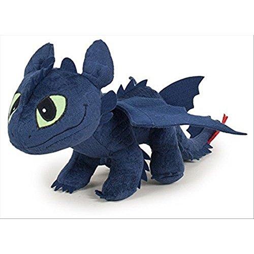Peluche Sdentato Dragon Trainer Dragons Furia Buia 35 cm
