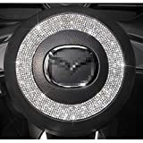 TopDall Steering Wheel Ring Bling Crystal...