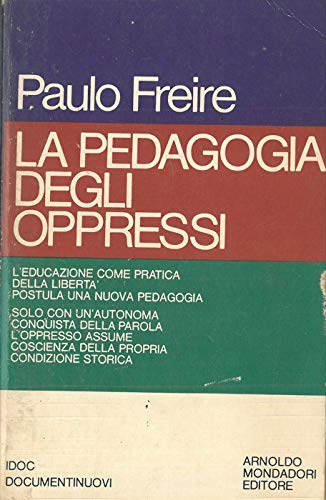 La pedagogia degli oppressi