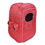 Carpa de sauna de vapor, caja de spa de cuerpo completo portátil plegable a prueba de agua, sauna interior para 2 personas para terapia de desintoxicación de pérdida de peso, carpa plegable liviana, s