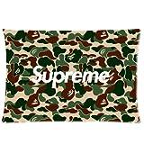 Trendsetter Pillowcase Supreme X Bape Kissenbezüge, personalisierbar, für das Zuhause, dekorativ,...
