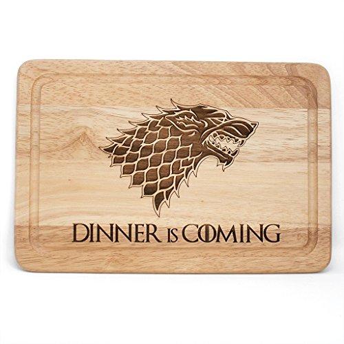 Planche à découper en bois Game of Thrones