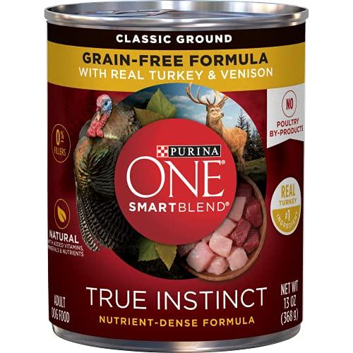 Purina ONE SmartBlend True Instinct Natural Grain-Free Classic Ground Formula Adult Wet Dog Food