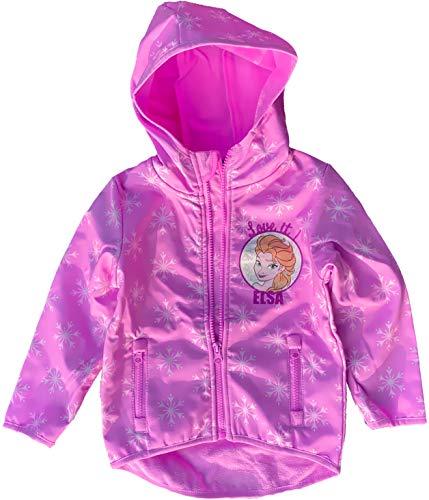 Eiskönigin FROZEN völlig unverfroren Mädchen Jacke Mädchen Softshelljacke 3 4 5 6 7 8 Jahre rosa 98 104 110 116128 cm (116)