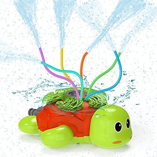 Kiztoys Water Sprinkler For Kids,Garden Sprinkler Kids-Premium Turtle...